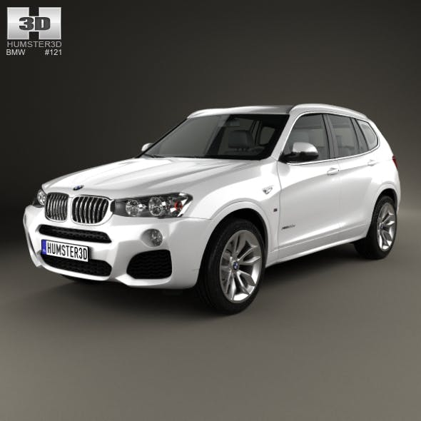 BMW X3 M Sport Package (F25) 2014 - 3DOcean Item for Sale