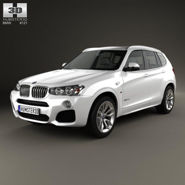 BMW X3 M Sport Package (F25) 2014