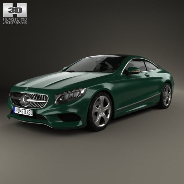 Mercedes-Benz S-Class (C217) coupe 2014