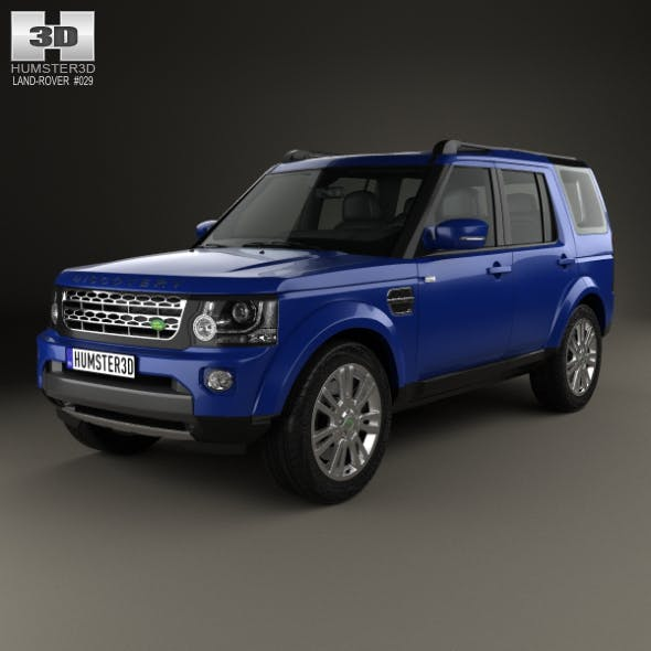Land Rover Discovery 2014 - 3DOcean Item for Sale