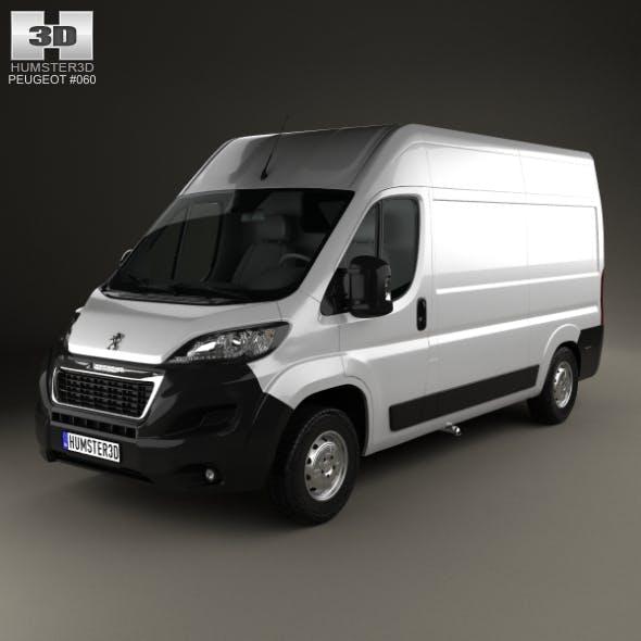 Peugeot Boxer L2H2 2014 - 3DOcean Item for Sale