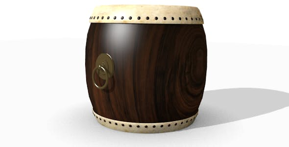 Ancient drum - 3DOcean Item for Sale