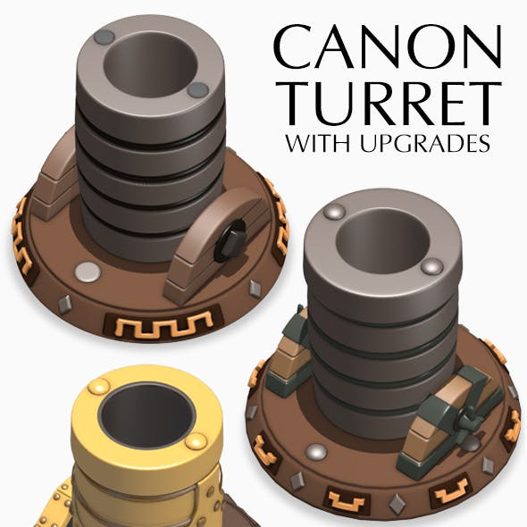 Canon Turret with upgrades