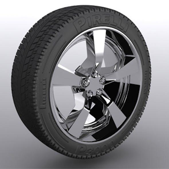 Chevrolet Camaro 2011 Chrome Wheel