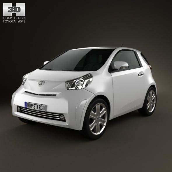 Toyota IQ 2009 - 3DOcean Item for Sale