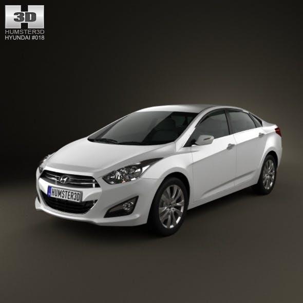 Hyundai i40 sedan 2012 - 3DOcean Item for Sale