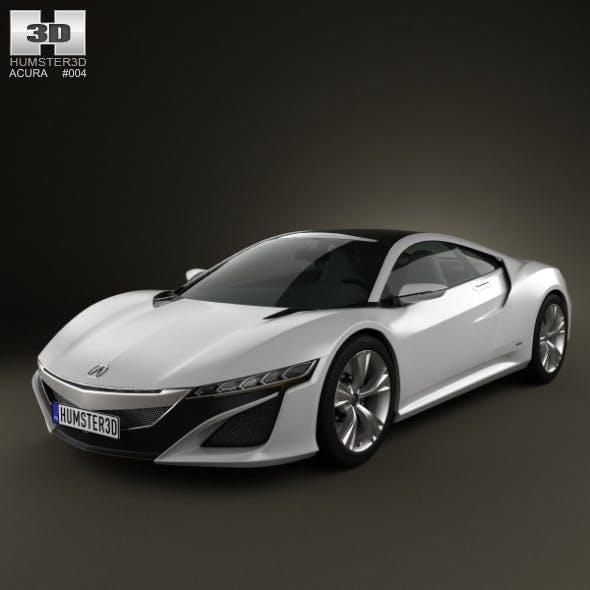 Acura NSX 2012 - 3DOcean Item for Sale