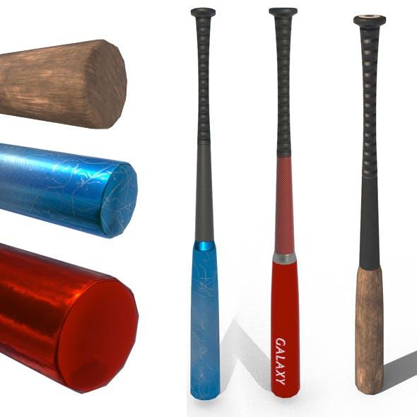 PBR Baseball Bat - 3DOcean Item for Sale