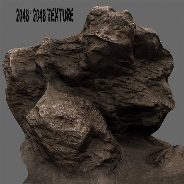 rocks 9 - 3DOcean Item for Sale
