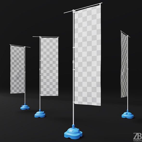 Nobori Flag - 3DOcean Item for Sale