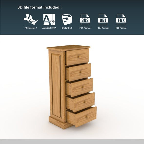 Cabinet 5 Drawers