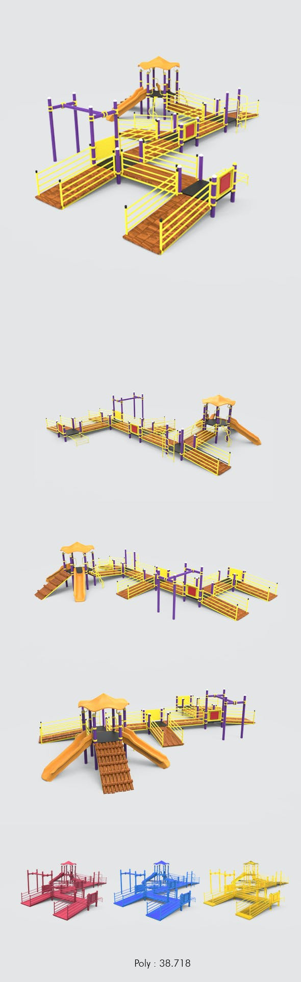 Playground - 3DOcean Item for Sale