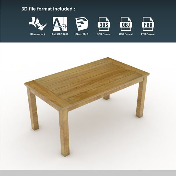 Gede Dining Table