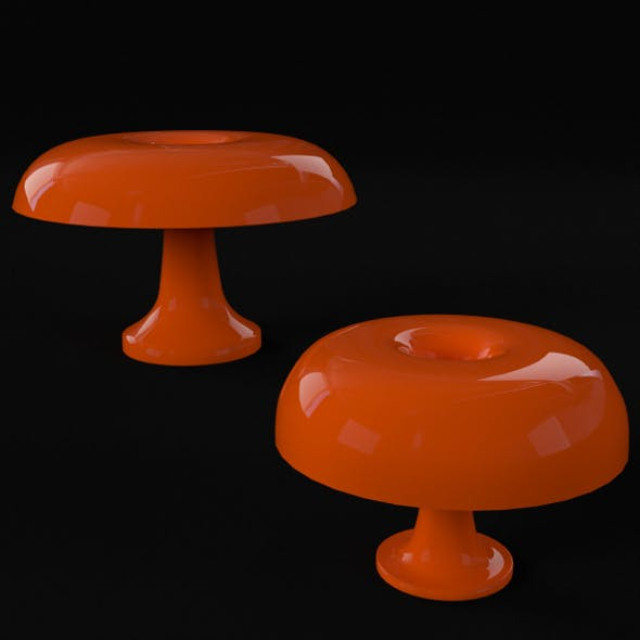 Nesso Table Lamps (PBR material, UV-unwrapped)