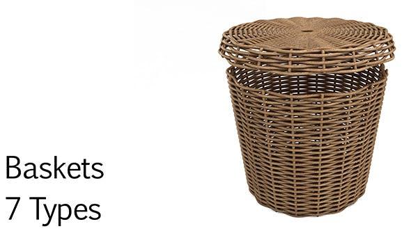 Basket pack - 3DOcean Item for Sale