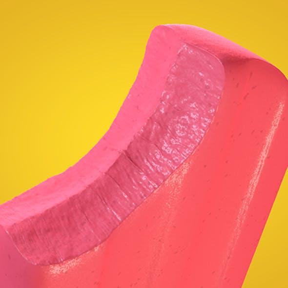 Popsicle C4D Model.