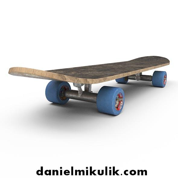 PBR Old Skateboard