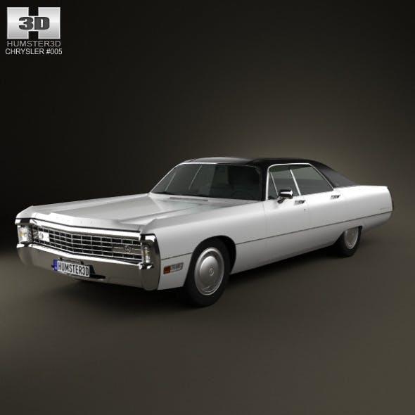 Chrysler Imperial LeBaron 4-door Hardtop 1971 - 3DOcean Item for Sale