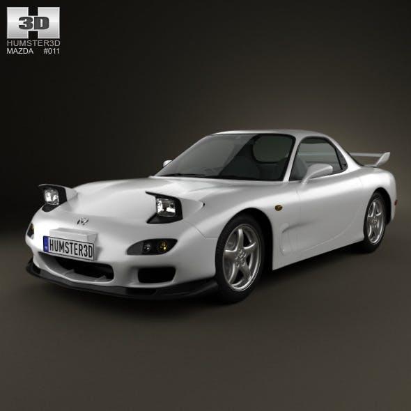 Mazda RX-7 1992 - 3DOcean Item for Sale
