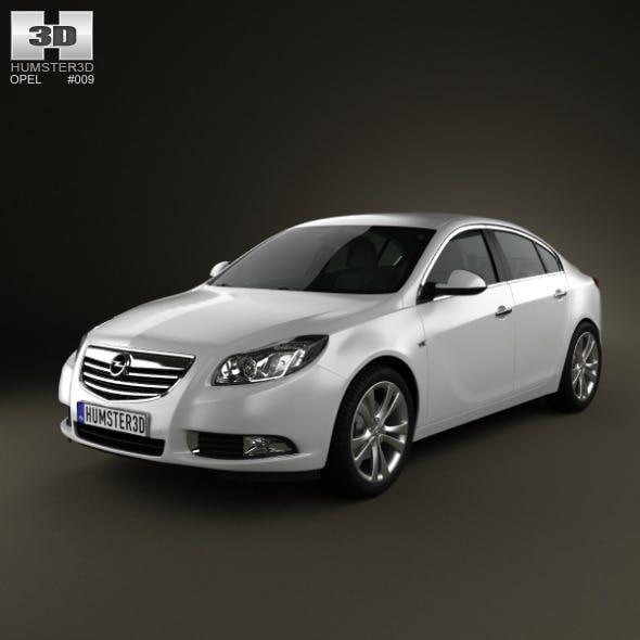 Opel Insignia Sedan 2009 - 3DOcean Item for Sale