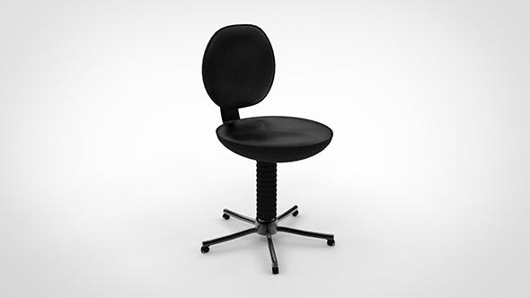 Modern Office Chair - 3DOcean Item for Sale