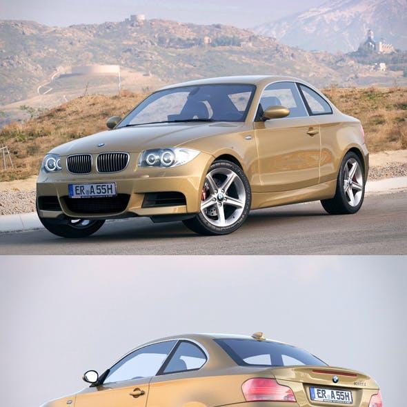 BMW 1 Series e82 135 coupe