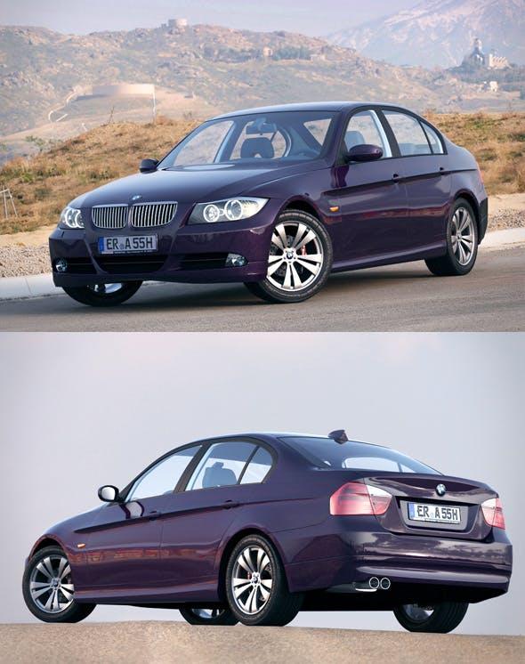 BMW 3 Series e90 sedan - 3DOcean Item for Sale
