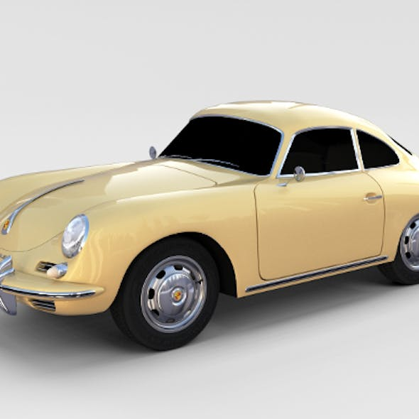 Porsche 356 Coupe rev
