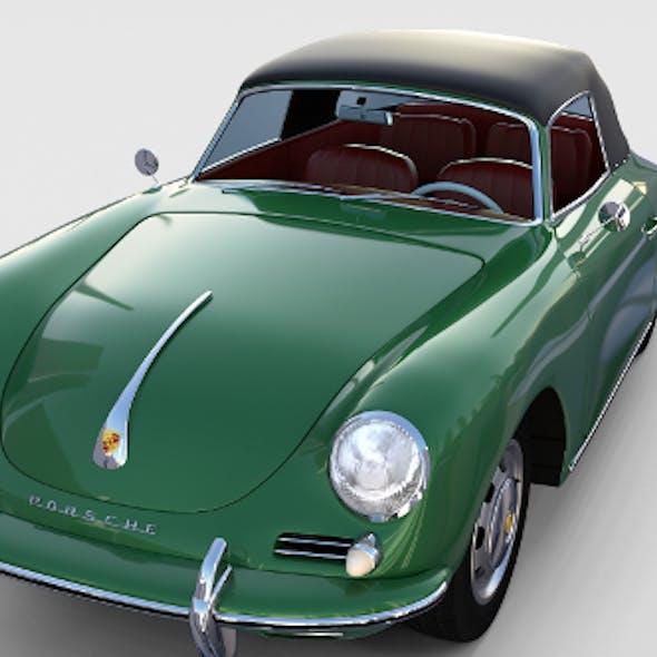 Porsche 356 Cabriolet rev