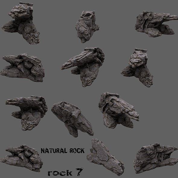 mount rock 7 - 3DOcean Item for Sale