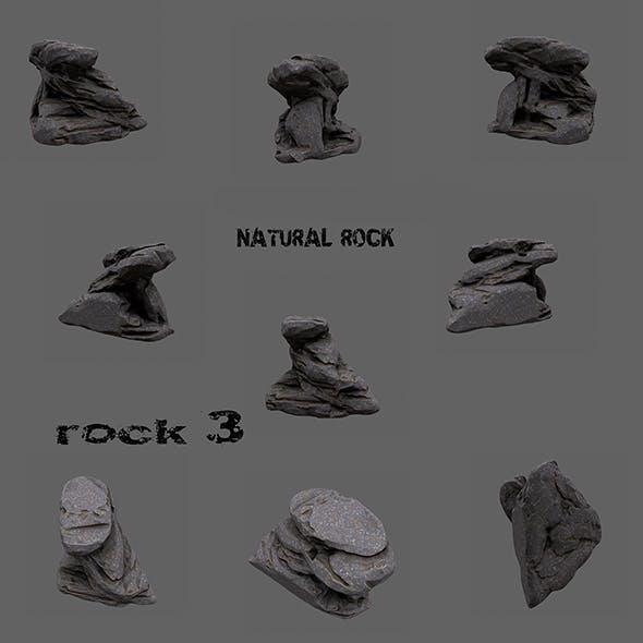 mount rock 3 - 3DOcean Item for Sale
