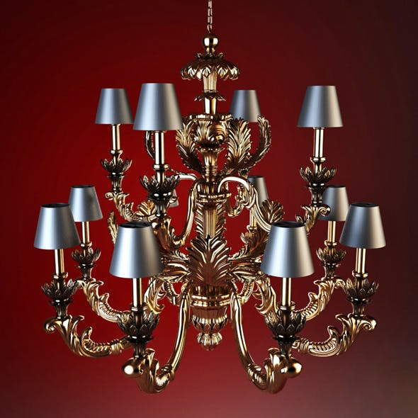 High quality model of classic chandelier Chelini