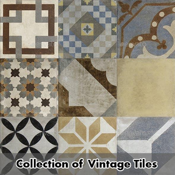 011 Vintage Tiles 05 - 3DOcean Item for Sale