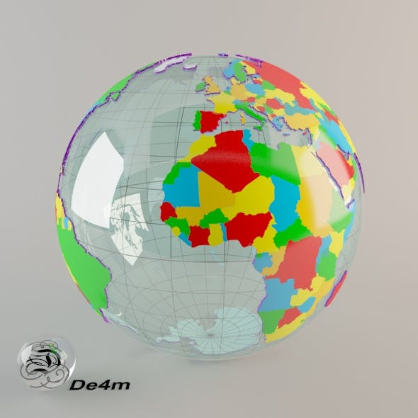 World Globe (political)