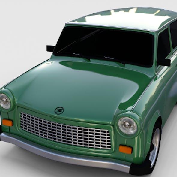 Trabant 601 estate rev