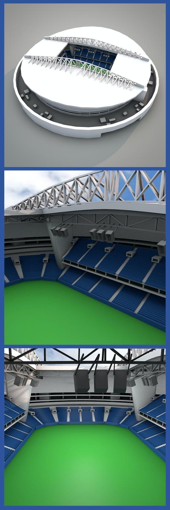 Dragon Stadium  - 3DOcean Item for Sale