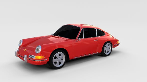 1964 Porsche 911 rev - 3DOcean Item for Sale