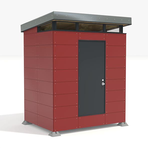 Modern Storage Shed