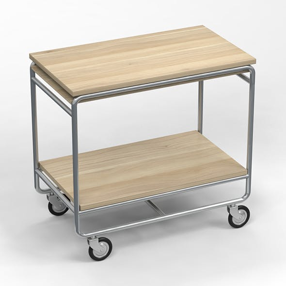 Trolley Table - 3DOcean Item for Sale