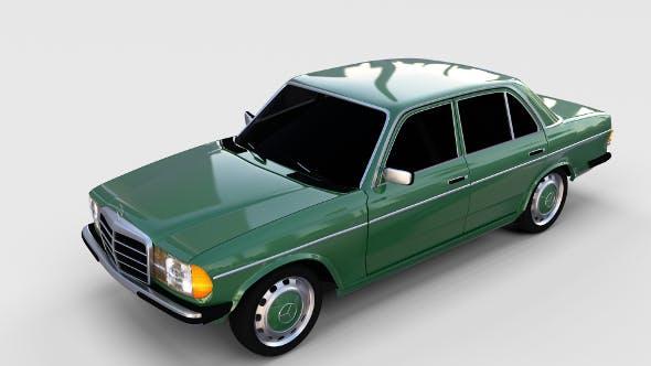 Mercedes-Benz W123 rev - 3DOcean Item for Sale