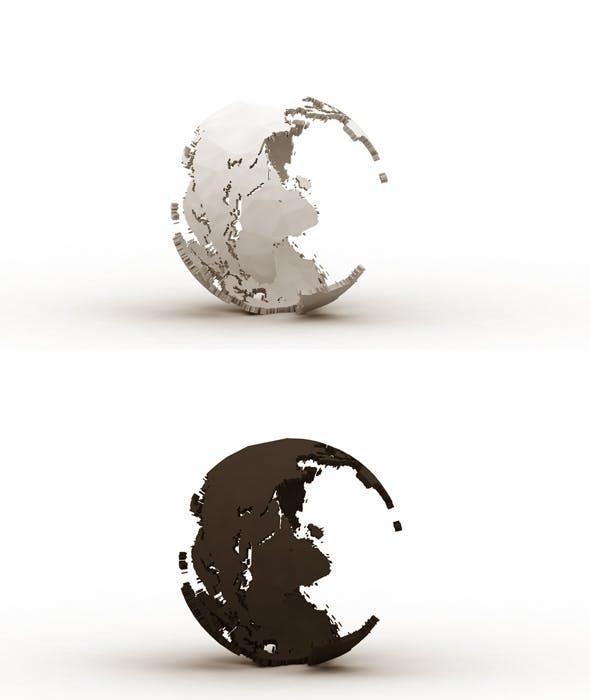 World Break 3d Model - 3DOcean Item for Sale