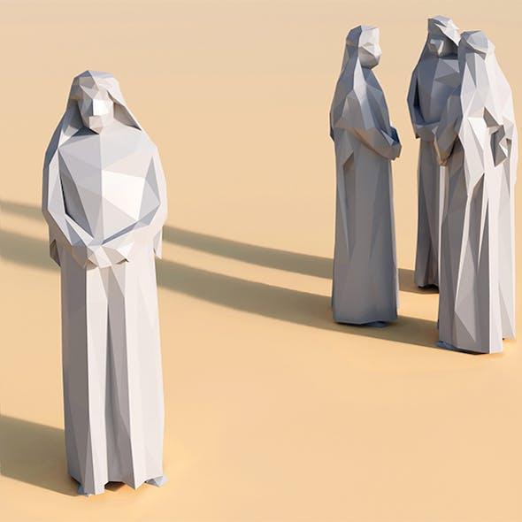 Lowpoly Arab 001