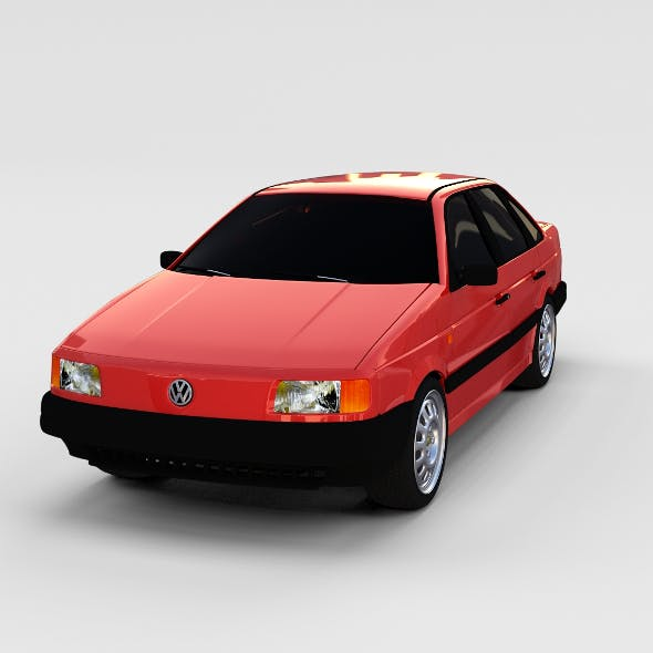 Volkswagen Passat B3 rev - 3DOcean Item for Sale