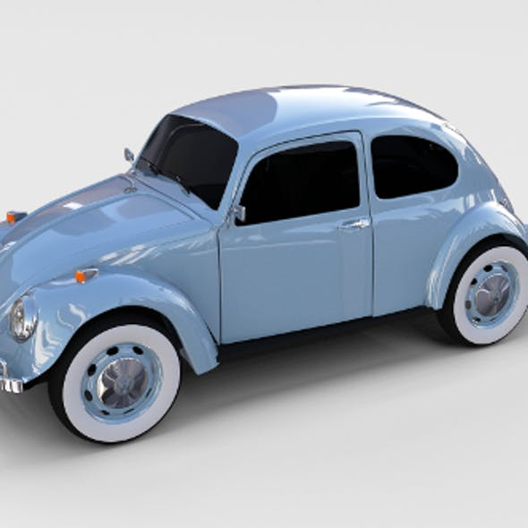 VW Beetle rev