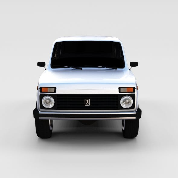Lada Niva rev - 3DOcean Item for Sale