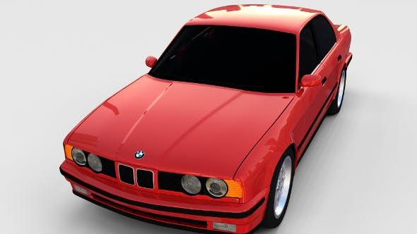 5 Series BMW E34 rev - 3DOcean Item for Sale