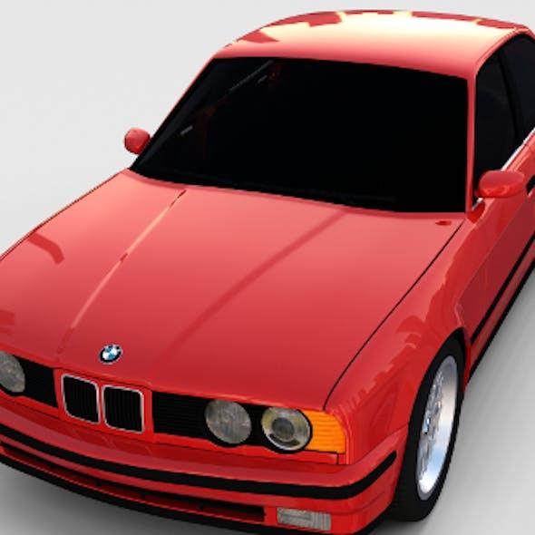 5 Series BMW E34 rev