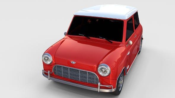 Mini Cooper rev - 3DOcean Item for Sale