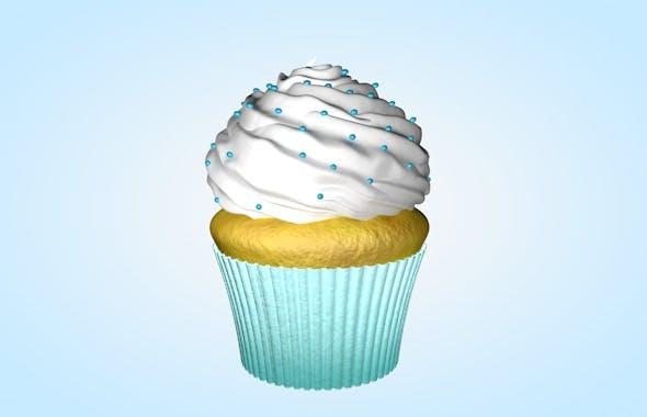 Cupcake - 3DOcean Item for Sale