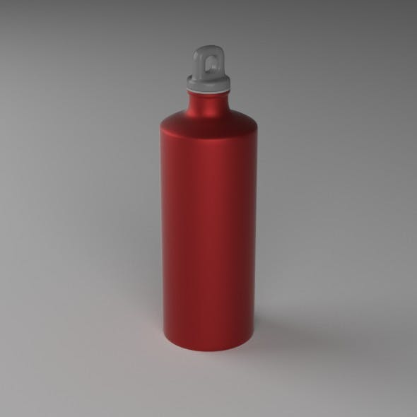 Outdoor Bottle - 3DOcean Item for Sale